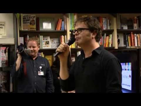 Rainn Wilson from The Office in Mountain View, Ca. with Patch News.