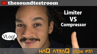 Audio Limiter VS Audio Compressor whats the difference? │ haQ VLog 51