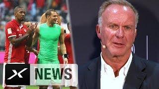 Karl-Heinz Rummenigge: Manuel Neuer und Jerome Boateng vor Comeback | FC Bayern München