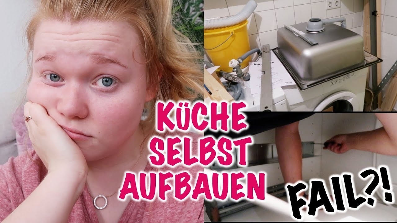 ikea k che selbst aufbauen mega fail i meggyxoxo youtube. Black Bedroom Furniture Sets. Home Design Ideas
