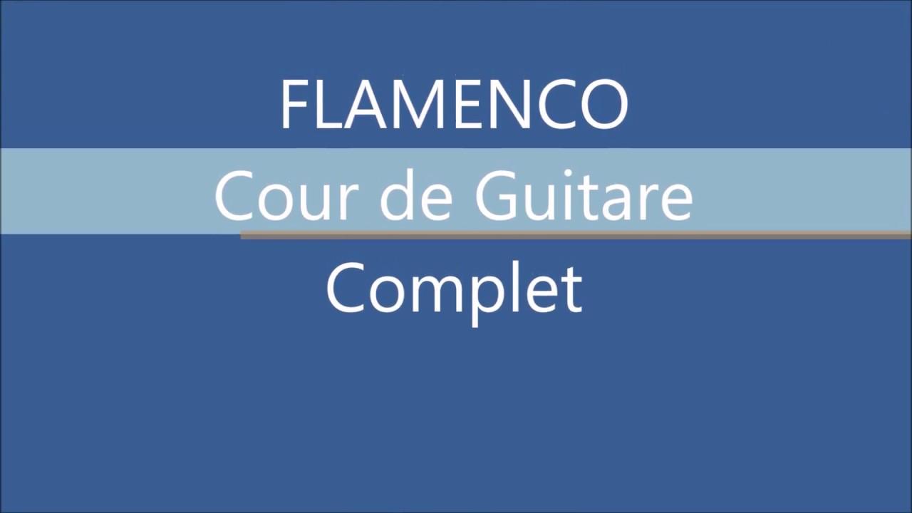 Cours de Guitare. Flamenco - leçon 2 ~ soleá et premier ...