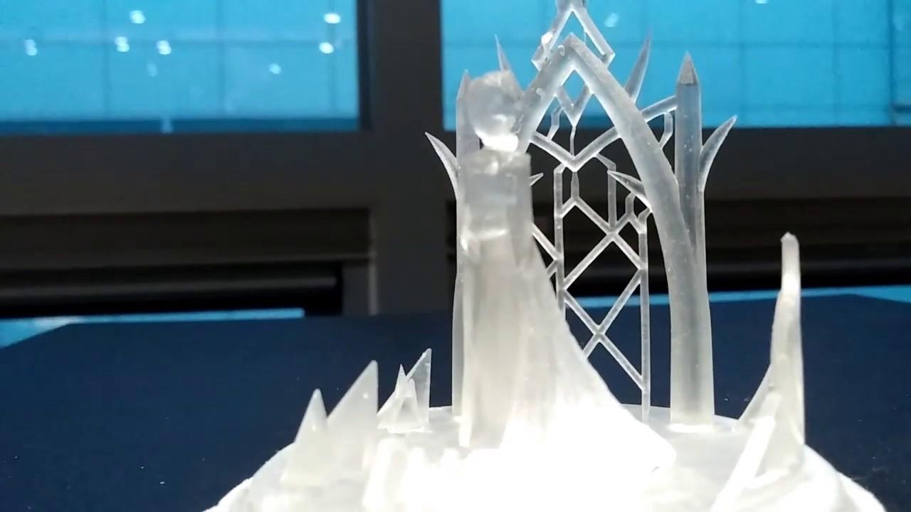 'Frozen' elsa. made by 3d-print (엘사 3d프린트)