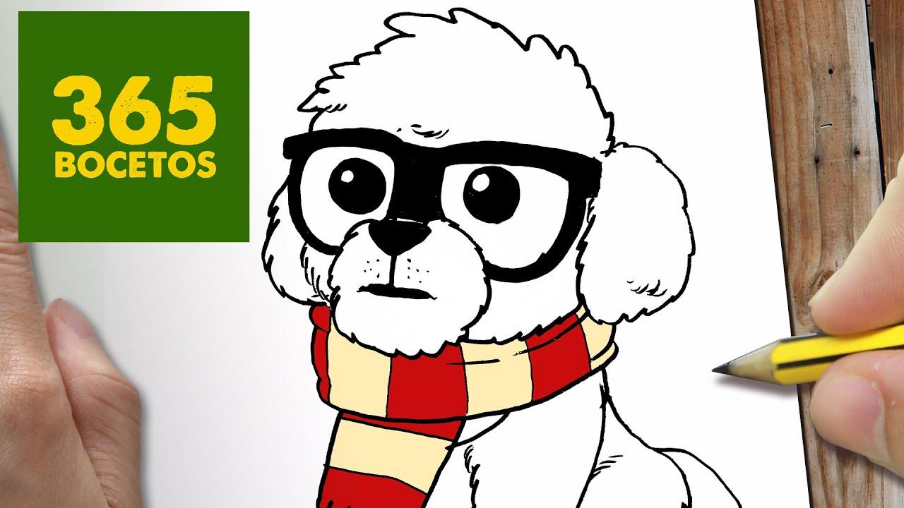Como Se Dibuja Un Perro Facil. Great Perro Dibujo Fcil