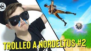 TROLLEO a NORDELTUS en FORTNITE ! #2 🤣