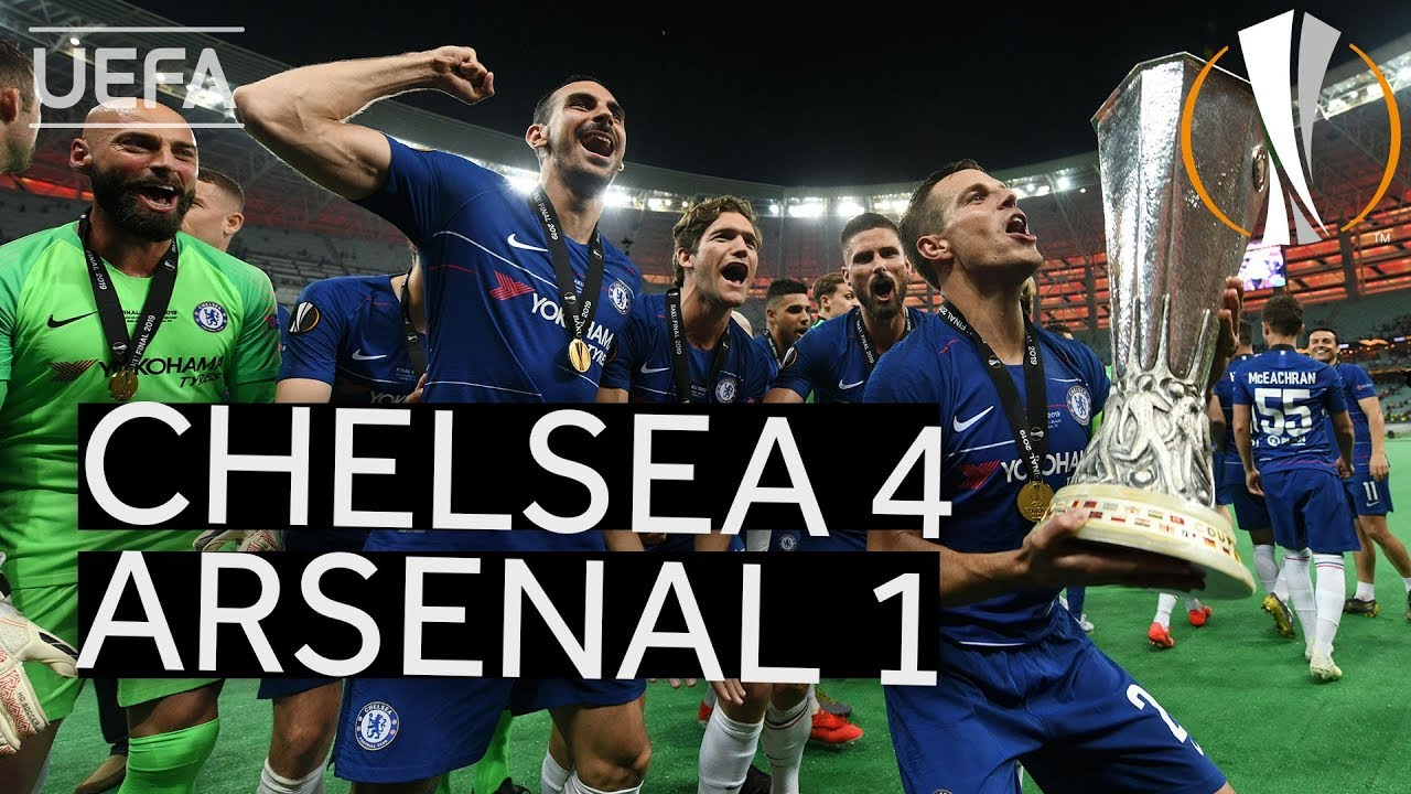 Download CHELSEA 4-1 ARSENAL #UEL FINAL HIGHLIGHTS