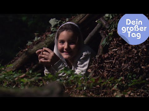 Drei Tage Wildnis - Sara beim Survivaltraining | Dein großer Tag | SWR Kindernetz