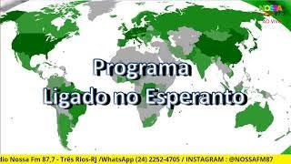 LIGADO NO ESPERANTO! 02/05/2021