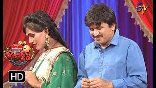 Rocket Raghava Performance | Jabardasth |  1st March 2018  | ETV  Telugu