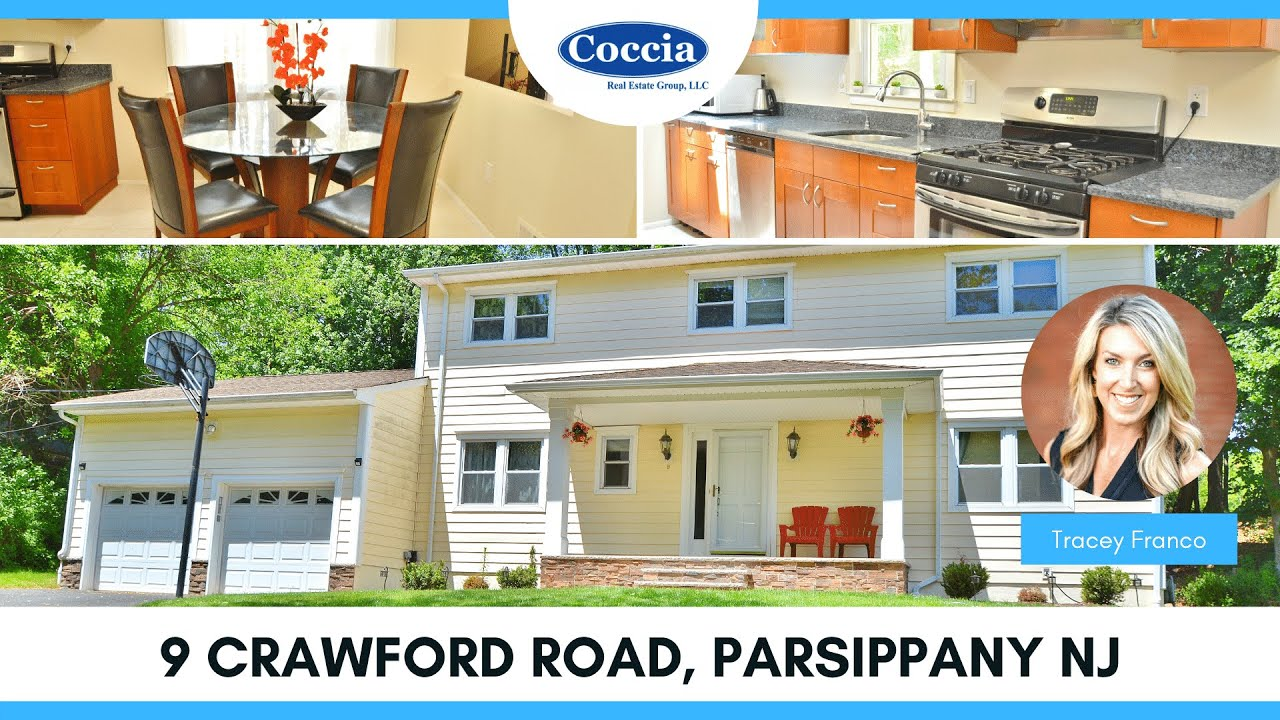 9 Crawford Road   Homes for Sale Parsippany NJ   Morris County