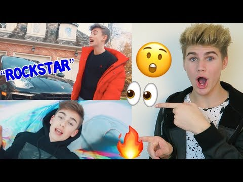 THE BEST COVER?! JOHNNY ORLANDO - ROCKSTAR (COVER) POST MALONE **REACTION** MUST WATCH 2018