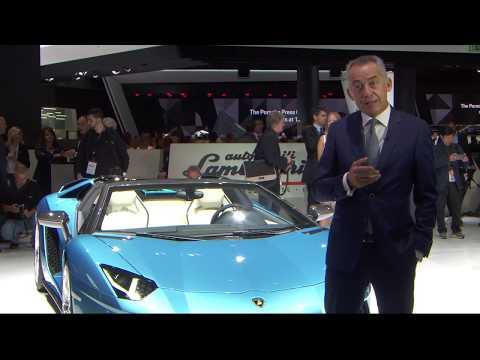 Lamborghini Aventador S Roadster: design and innovation