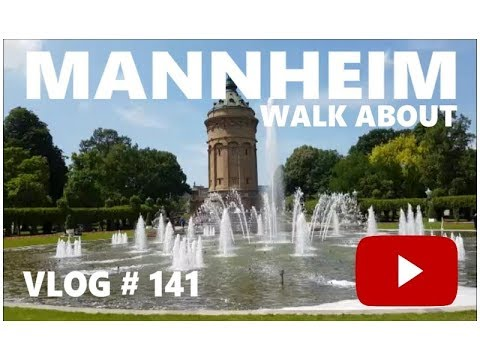 Mannheim Town Walkabout. Mannheim Germany