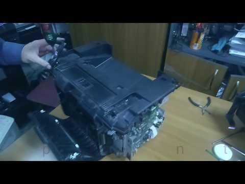 Лекция из мастерской: Замена термопленки в притере HP M225