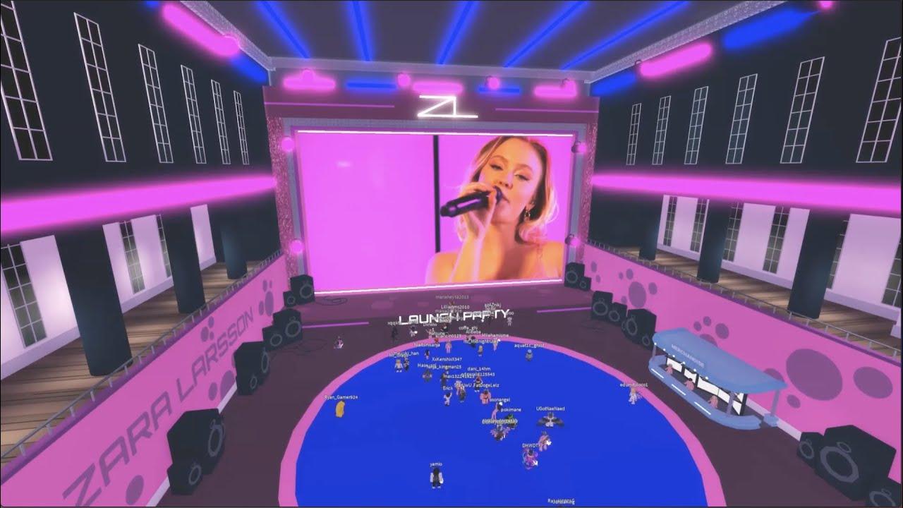Zara Larsson Roblox Launch Party Recap