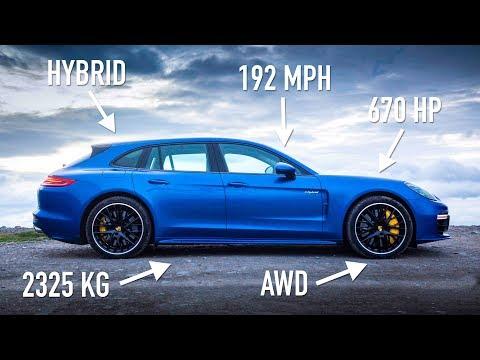 Porsche Panamera Turbo S E-Hybrid Sport Turismo: Road Review | Carfection 4K