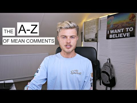 The A-Z of Mean Comments