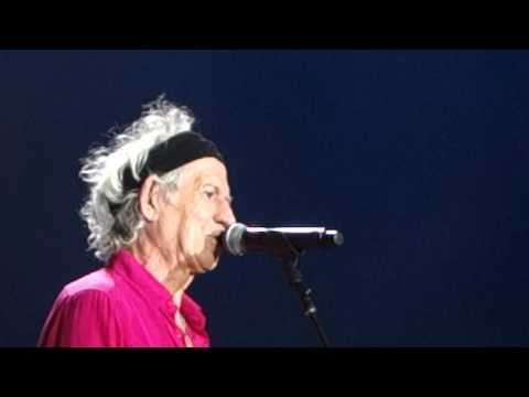 Rolling Stones Santiago de Chile 2016 You got the Silver Keith Richards