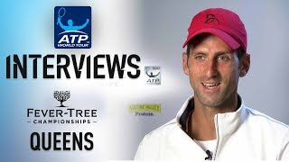 Djokovic: 'I'm Getting Better' At Queen's Club 2018