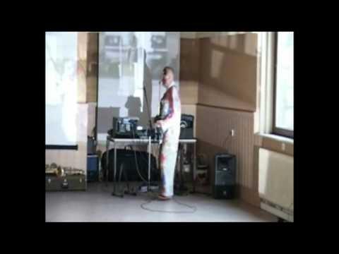 """EXPERIMENTALLABOR"" KlangKunstVideoMalereiLyrikTanz Performance"