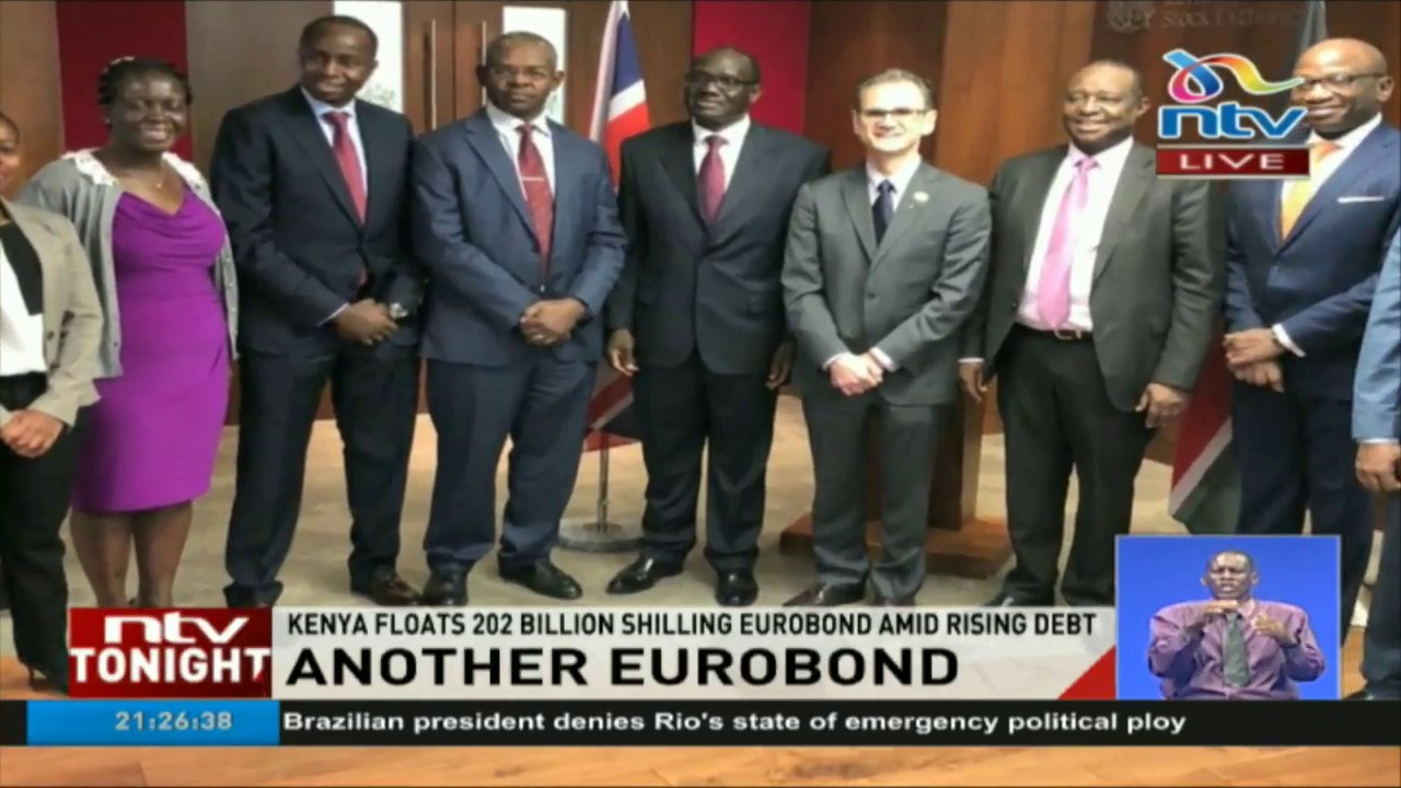 Kenya floats 202 billion shilling Eurobond amid rising debt