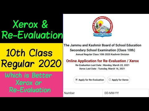 10th Class Xerox U0026 Re-evaluation | Which Is Better And How To Apply