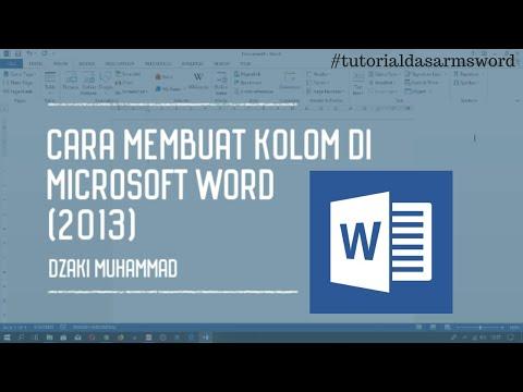 Cara Membuat Paragraf Menjadi Beberapa Kolom di Microsoft Word