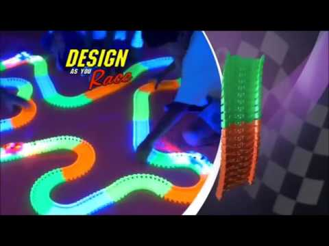 Magic Tracks - волшебные светящиеся гонки (гоночная трасса игрушка .