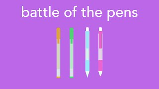 battle of the pens