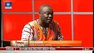 ASUU Strike: Dele Questions Competence Of Labour Minister Pt.1 | Sunrise Daily |