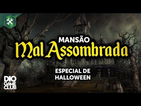 MANSÃO MAL ASSOMBRADA! ? Construindo no The Sims 4 | DioGameClub thumbnail