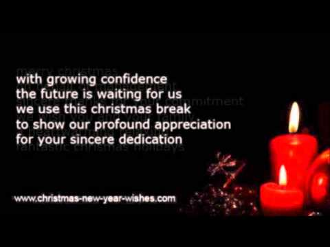 Business christmas greeting employees & workers - YouTube