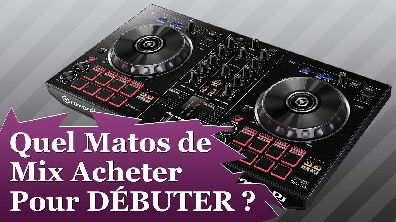 Le mat riel dj acheter pour bien d buter youtube - Meuble pour table de mixage ...