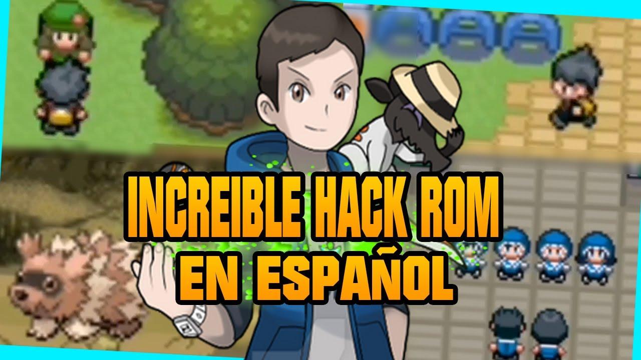 ⭐MEJOR HACK ROM GBA en ESPAÑOL⭐ Pokémon Sovereign of the skies