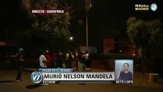 Visión 7: Pesar en el mundo: Murió Nelson Mandela