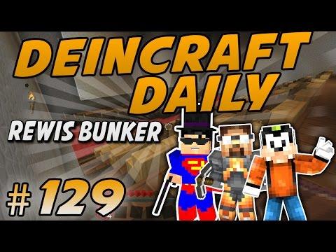REWIS BUNKER - DeinCraft Daily #129 | Deincraft Reloaded