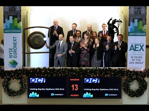 Euronext introduces equity options on OCI N.V.