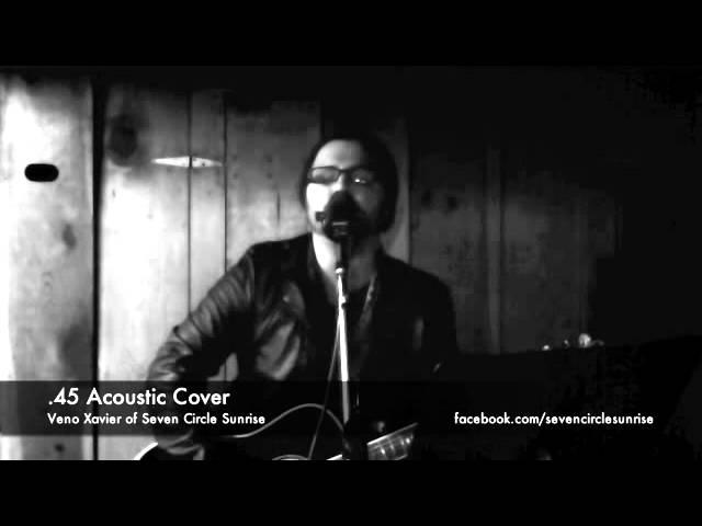 "Veno Xavier of SCS - "".45"" Acoustic Cover (Shinedown)"