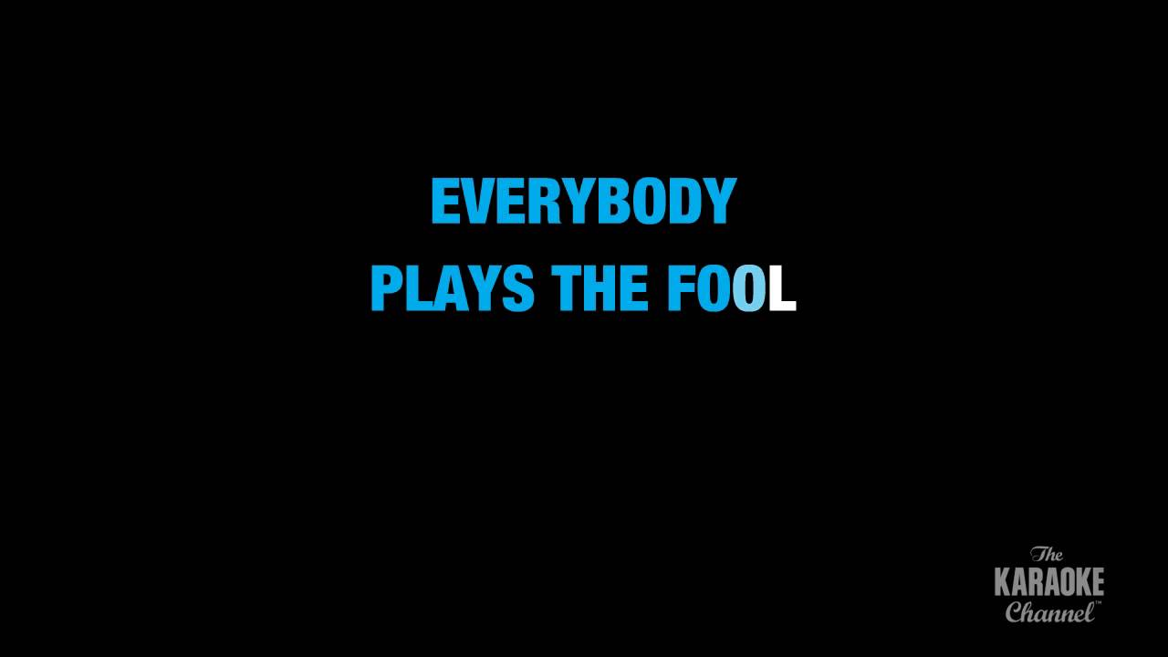 Aaron Neville – Everybody Plays the Fool Lyrics | Genius ...