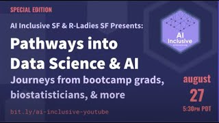 [ENGLISH] AI Inclusive SF - Pathways into Data Science and AI