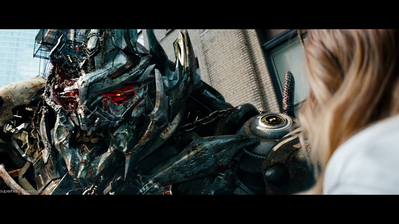 Transformers Dark of the moon Megatron and Carly (1080pHD ...