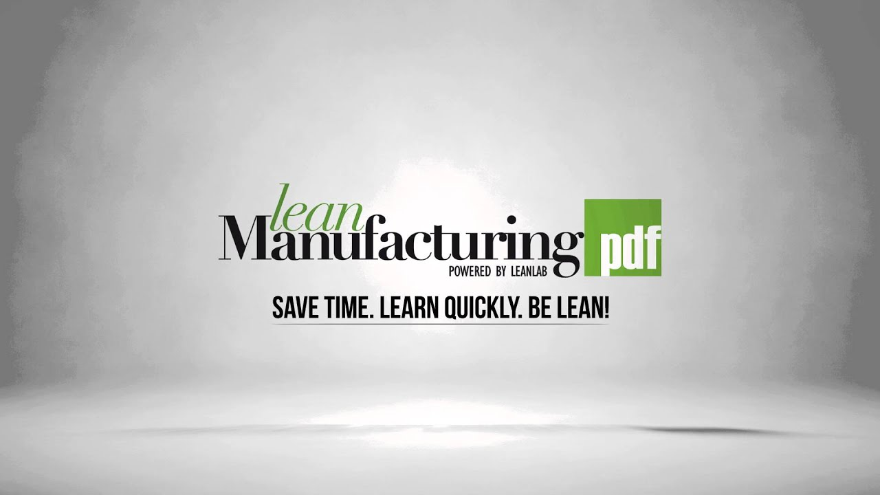 A Brief History of Lean Manufacturing
