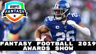 2019 Fantasy Football: Awards Show (MVP, Bust, Rookie of the Year)