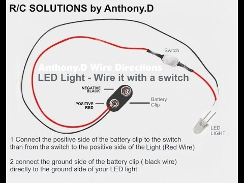 rc led wiring example electrical wiring diagram u2022 rh cranejapan co
