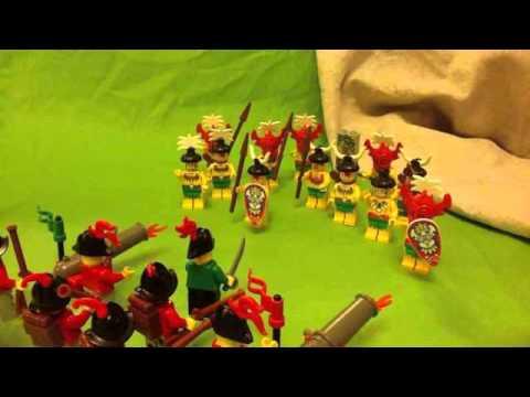 Francisco Pizarro his life LEGO stop motion