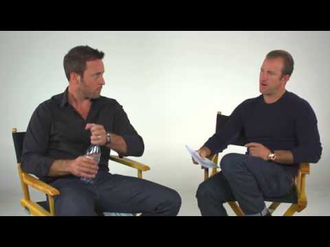 Alex O'Loughlin and Scott Caan Answer  Questions