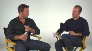 Alex O'Loughlin and Scott Caan Answer Fan Questions
