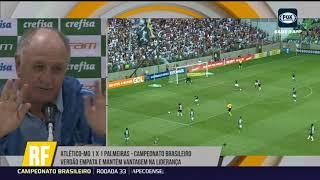 Palmeiras será campeão Brasileiro de forma fácil? Felipão responde!