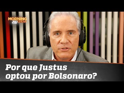 Por que Roberto Justus optou por Jair Bolsonaro?