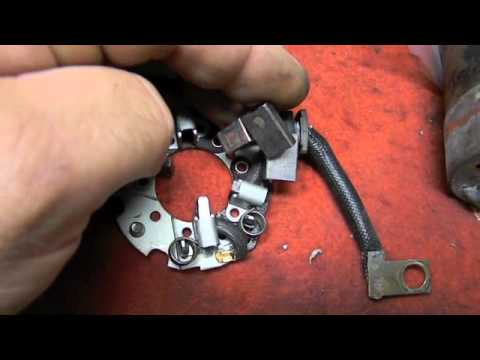 Mitsubishi Starter Repair Pt.2