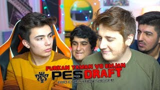 FURKAN VS EMJAN !! - PES DRAFT !